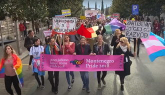 La fierté gay, lesbienne, bi et trans monténégrine défile depuis 2013.