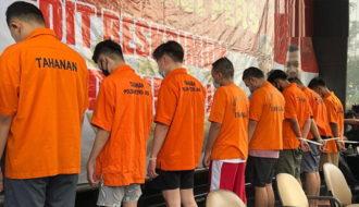 Jakarta arrestations gays