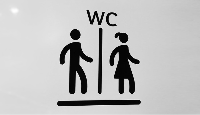toilettes inclusives Zurich lycée non-genré