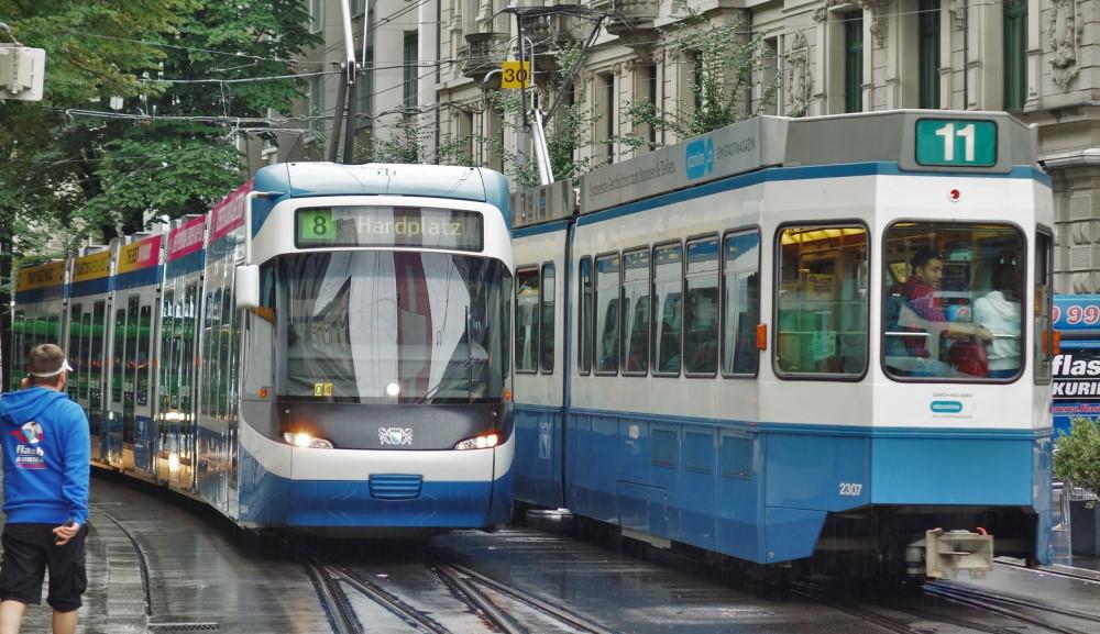 Trams Zurich
