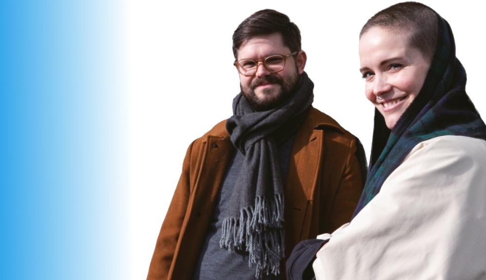 Viviane et Stéphane Morey. Photo: Lana Cueto / La Fête du Slip, Lausanne